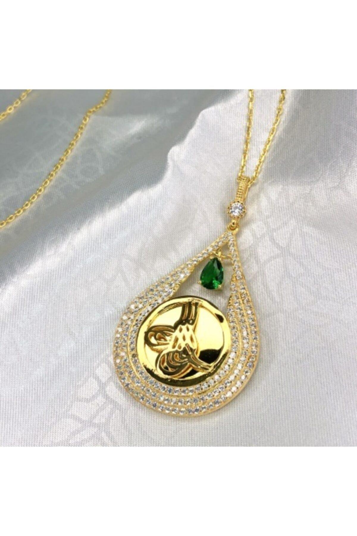 Selen'S Gümüş Altın Sarısı Gümüş Kolye Ucu 1