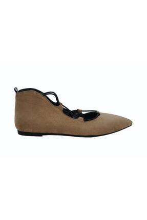 DİVUM Kadın Vizon Süet Ayakkabı