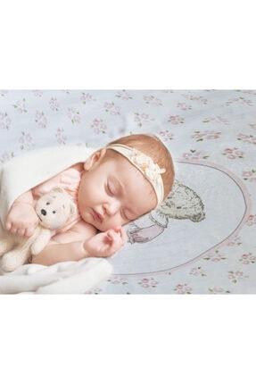 NİLUE BABY&MOM Nilue %100 Organik Pamuk Teddy Gırl Müslin Örtü - Gots Sertifikalı-