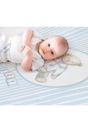 NİLUE BABY&MOM Nilue %100 Organik Pamuk Teddy Boy Müslin Örtü - Gots Sertifikalı-