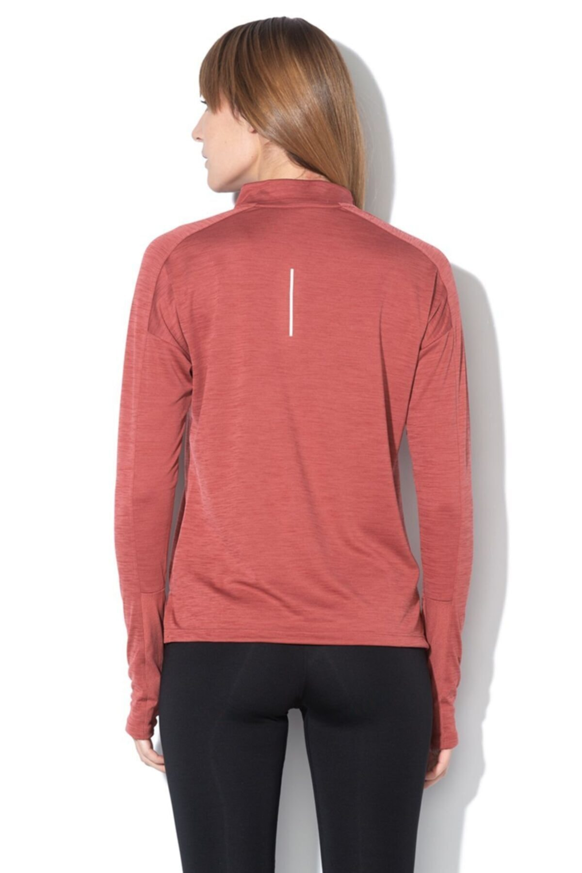 Nike Kadın Kiremit Spor Sweatshirt Nk Pacer Top Hz-928613-661 2
