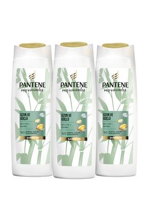 Pantene Bambu Ve Biyotinli Uzun Ve Güçlü Şampuan 1200 ml