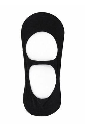SUWEN Kadın Siyah Banded Çorap