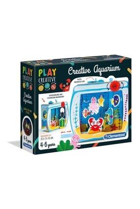 CLEMENTONI Yaratıcı Akvaryum Play Creative 4-6 Yaş
