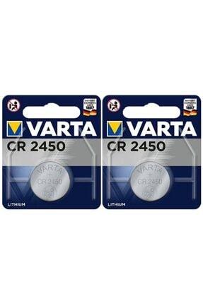 TNL Varta Cr2450 3v Lithium Pil 2 Adet