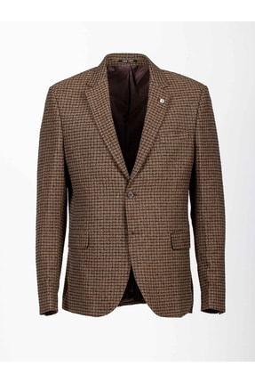 Mcr Erkek Kahverengi Klasik Ceket