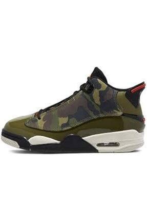 Nike Erkek Yeşil Kamuflaj Air Jordan Dub Zero Basketbol Ayakkabısı 311046-200