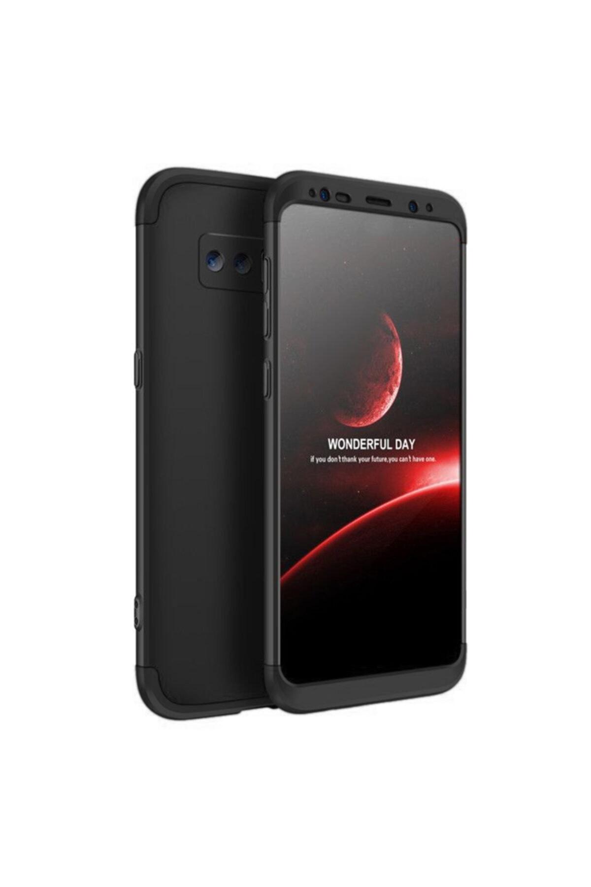 Microsonic Microsonic Galaxy Note 8 Kılıf Double Dip 360 Protective Siyah 1