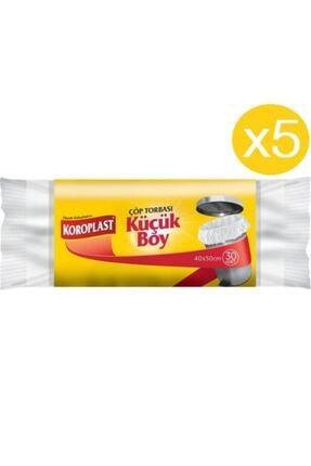 Koroplast Küçük Boy Çöp Torbası 30'lu X 5 Paket (40*50)