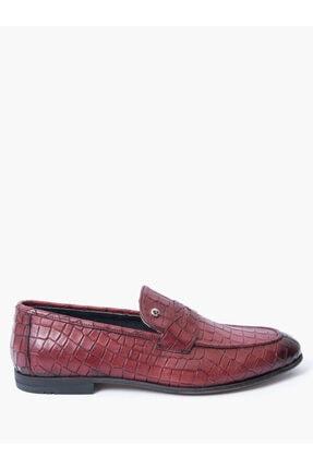 Pierre Cardin Erkek Bordo Klasik Ayakkabı