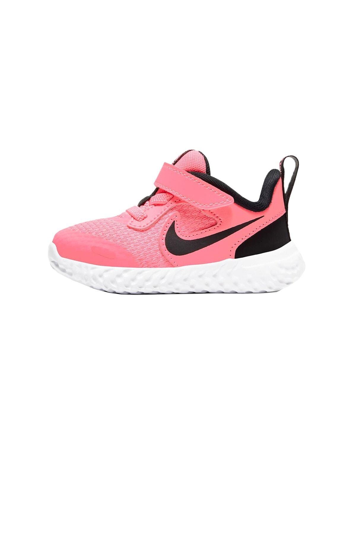 Nike Unisex Çocuk Pembe Revolutıon Spor Ayakkabı 5 Bq5673-602 1