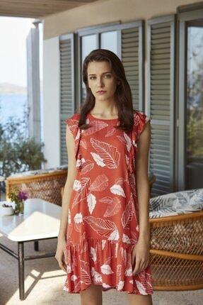 Penyemood Kadın Kırmızı Elbise 8533
