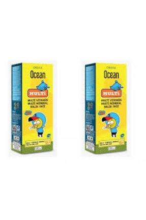 Ocean Multi Omega 3 Kral Şakir 150 Ml Şurup 2 Adet