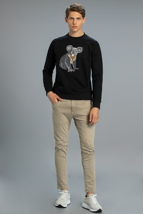 Lufian Erıc Smart 5 Cep Pantolon Slim Fit Bej
