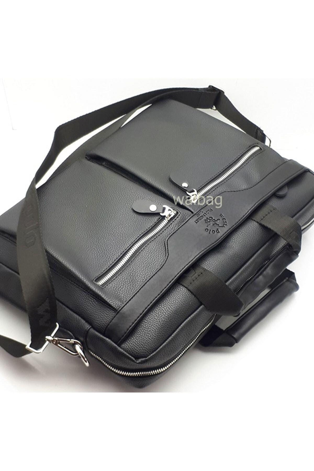 Westpolo Erkek Siyah Laptop & Evrak Çantası Try6008 2