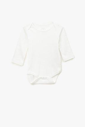 Koton Kids Beyaz Kız Bebek Body