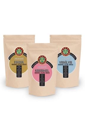 Kahve Dünyası 3'lü Aromalı Filtre Kahve (van, Fın, Kar)