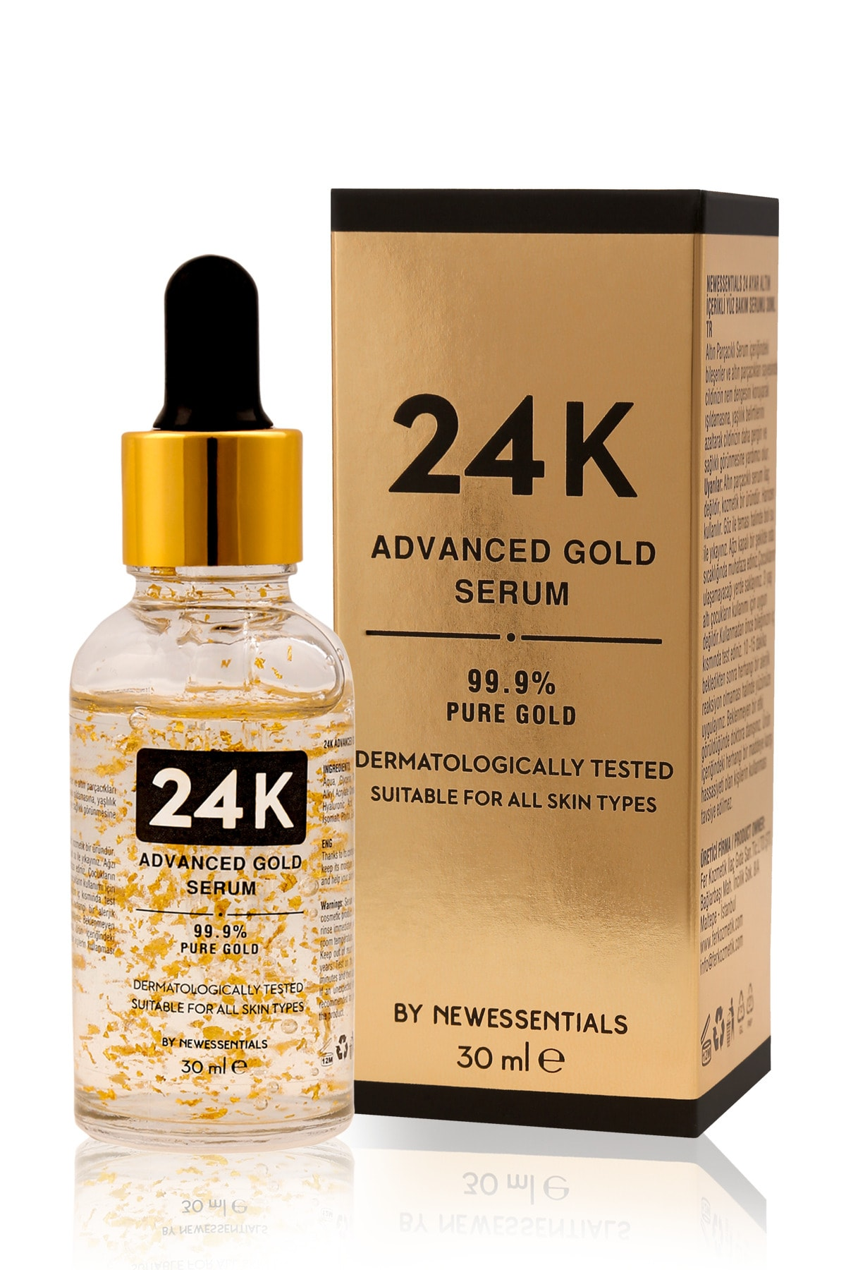 New Essentials 24k Advanced Gold Serum 30 Ml 1