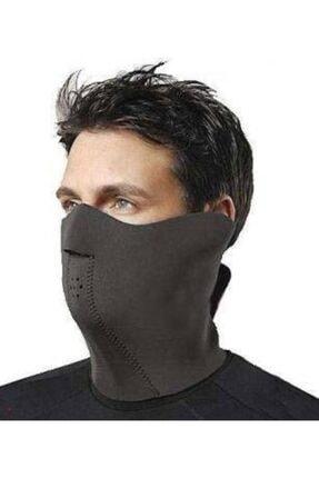 Arzu / Monero Motosiklet Termal Yüz Koruyucu Maske Rüzgar Geçirmez Neoplex