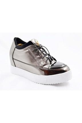 Guja Kadın Gri Gizli Dolgu Topuk Spor Ayakkabı 18y401-25