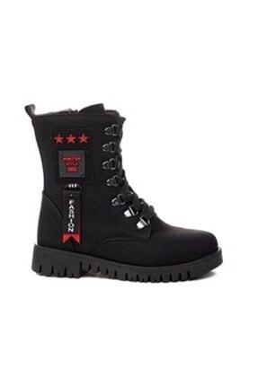 Twingo Kız Çocuk Kışlık Siyah Bot Ayakkabı
