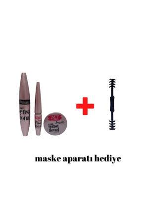 MT 3 In 1 Suya Dayanıklı Makeup Set + Maske Kulak Aparatı Hediye