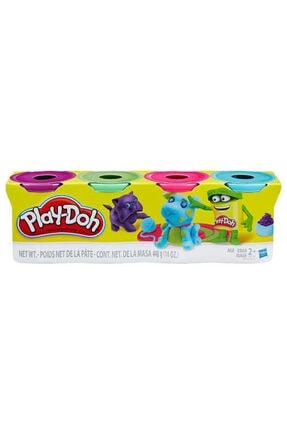 Play Doh Hasbro Play-doh Oyun Hamuru 4 Lü 448gr Mor,yeşil,pembe,turkuaz