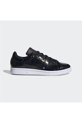 adidas Kadın Siyah Stan Smith Günlük Spor Ayakkabı