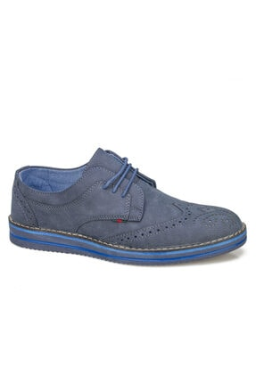 Atlanta Erkek Mavi Merdane Ayakkabı Günlük