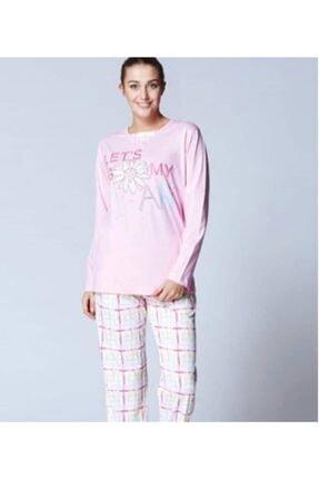 ROLY POLY Kadın Pembe Pamuklu Pijama Takımı