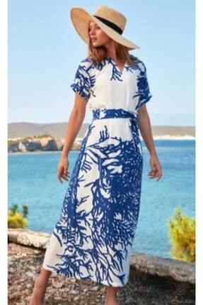 Penyemood Kadın Elbise Mavi 8756
