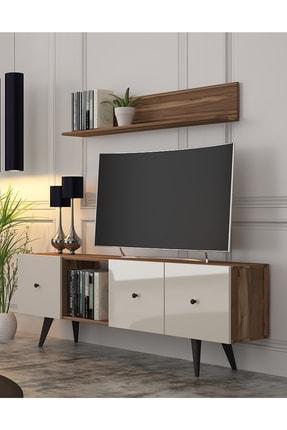 Cool Home Tarz TV Ünitesi-Ceviz Aytaşı (160 cm)