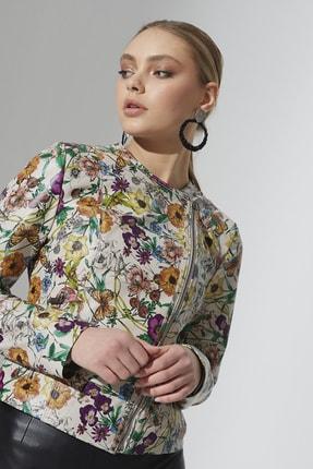 Dericeketim Kadın Flowers Ceket