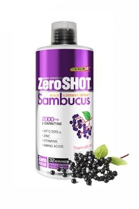 Zero Shot L-carnitine Thermo Burn 960 ml Sambucus Aromalı Enerji Güç