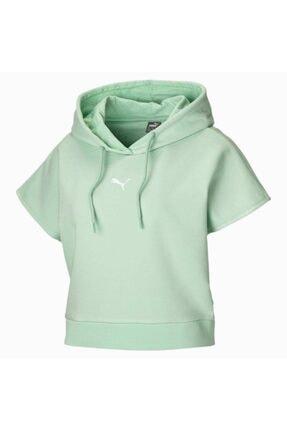 Puma Kadın  Mint Yeşili  Kısa Kollu Spor Sweatshirt