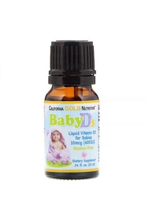 CALIFORNIA Gold Nutrition Baby D 3 Vitamin