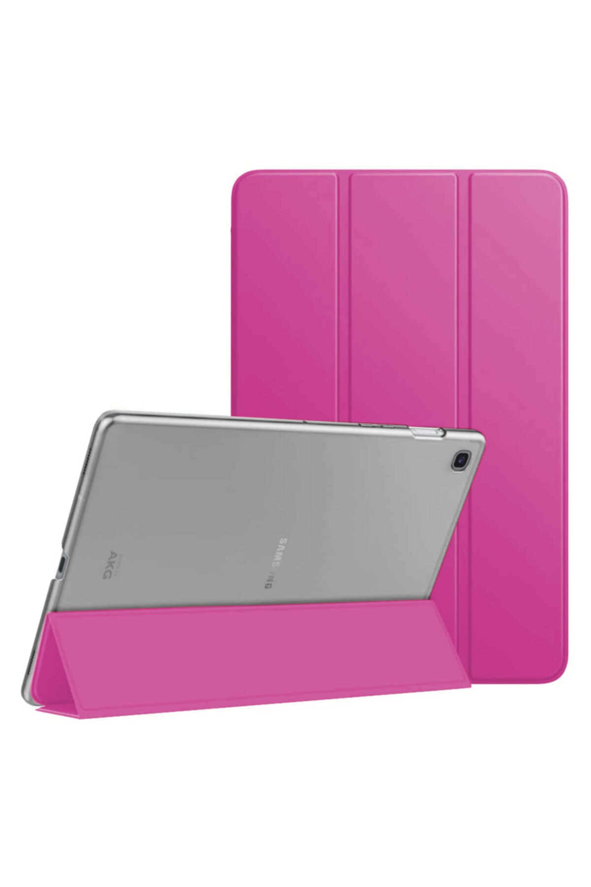"Microsonic Microsonic Galaxy Tab S6 Lite 10.4"" P610 Kılıf Slim Smart Cover Pembe 1"