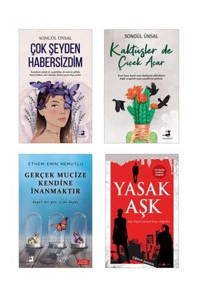 Olimpos Yayınları Çok Şeyden Habersizdim , Kaktüsler De Çiçek Açar - Gerçek Mucize Kendine Inanmaktır, Yasak Aşk