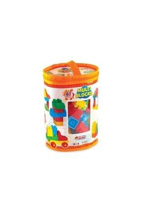 DEDE Multi Blocks 62 Parça - 62 Parça Yapı Oyuncağı