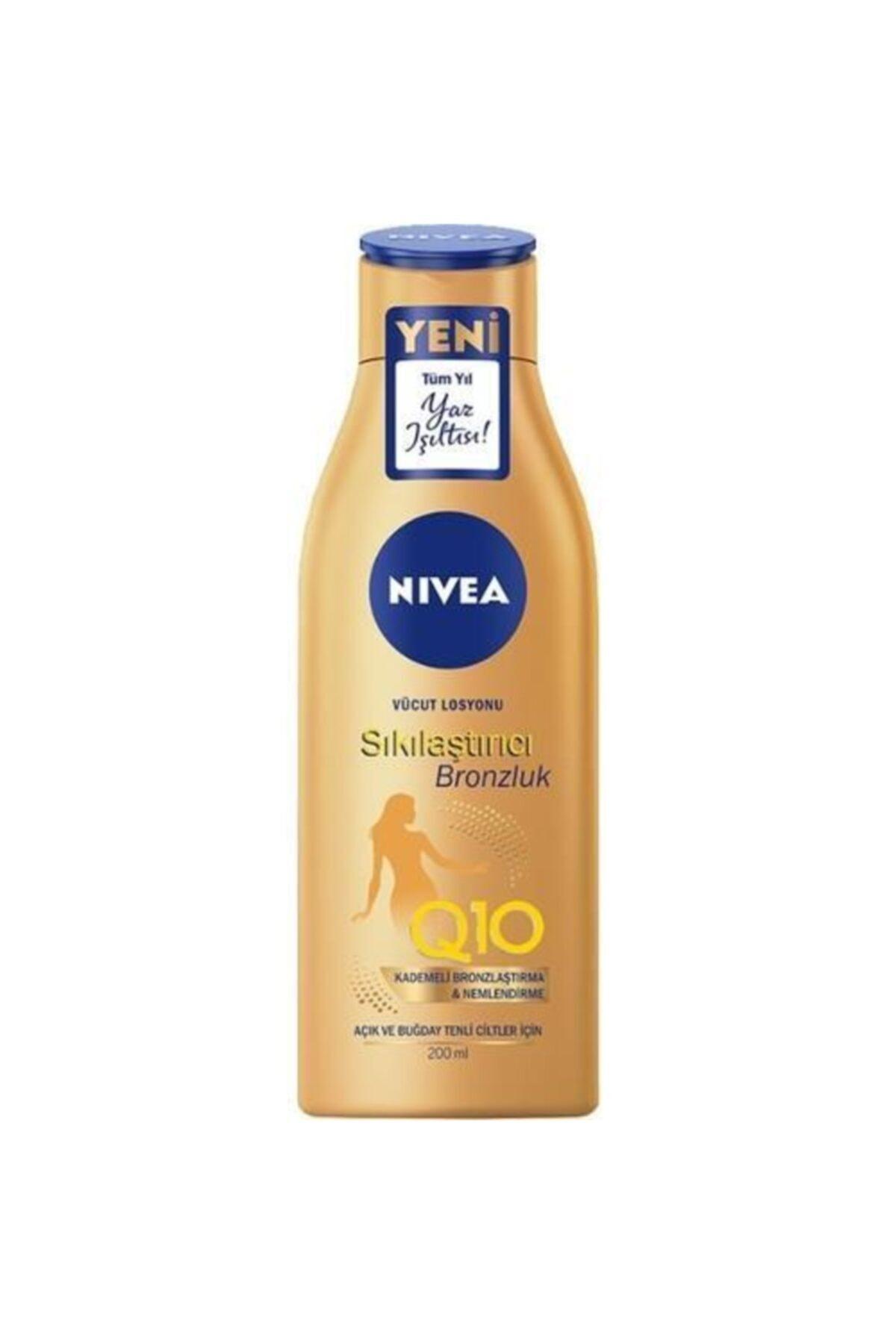 Nivea Sun Q10 Bronzlaştırıcı Ve Sıkılaştırıcı Losyon 200 ml 1