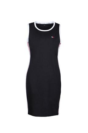 Tommy Hilfiger Kadın Siyah Tommy Hılfıger Elbise Tp98095z-blk