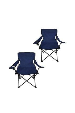 Ege Çantalı Kamp Sandalyesi Balıkçı Plaj Piknik Koltuğu 2 Adet