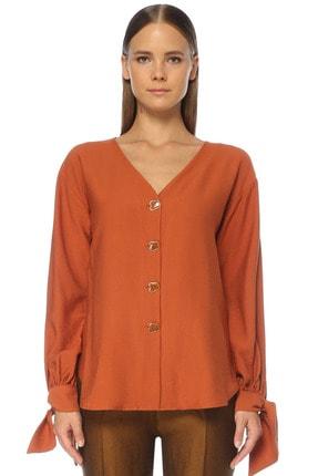 Network Kadın Tarçın Gömlek 1075382