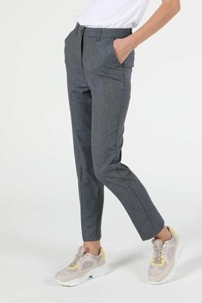 Colin's Slim Fit Yüksek Bel Dar Paça Kadın Gri Pantolon