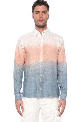 Network Erkek Beyaz İndigo Gömlek 1073948