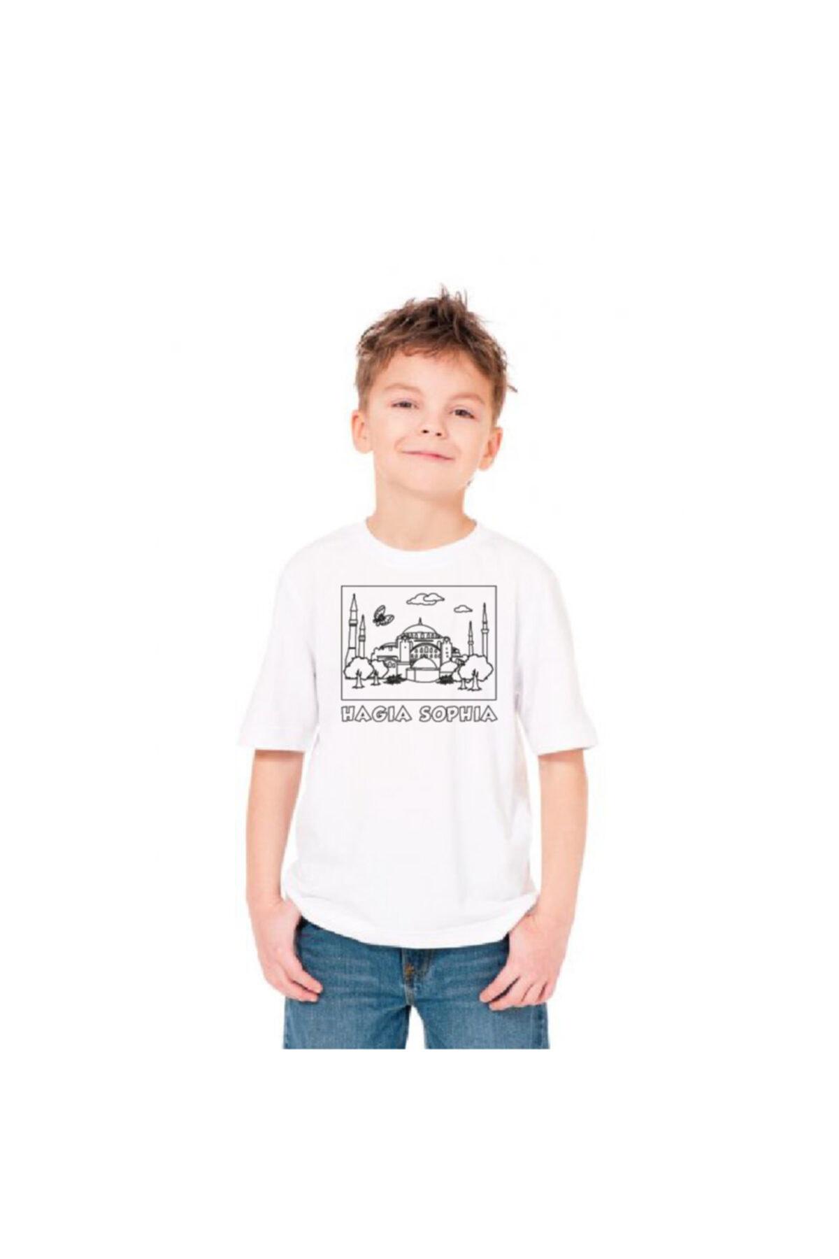 paint-wear Ayasofya Boyama T-shirt 7-8 Yaş 2