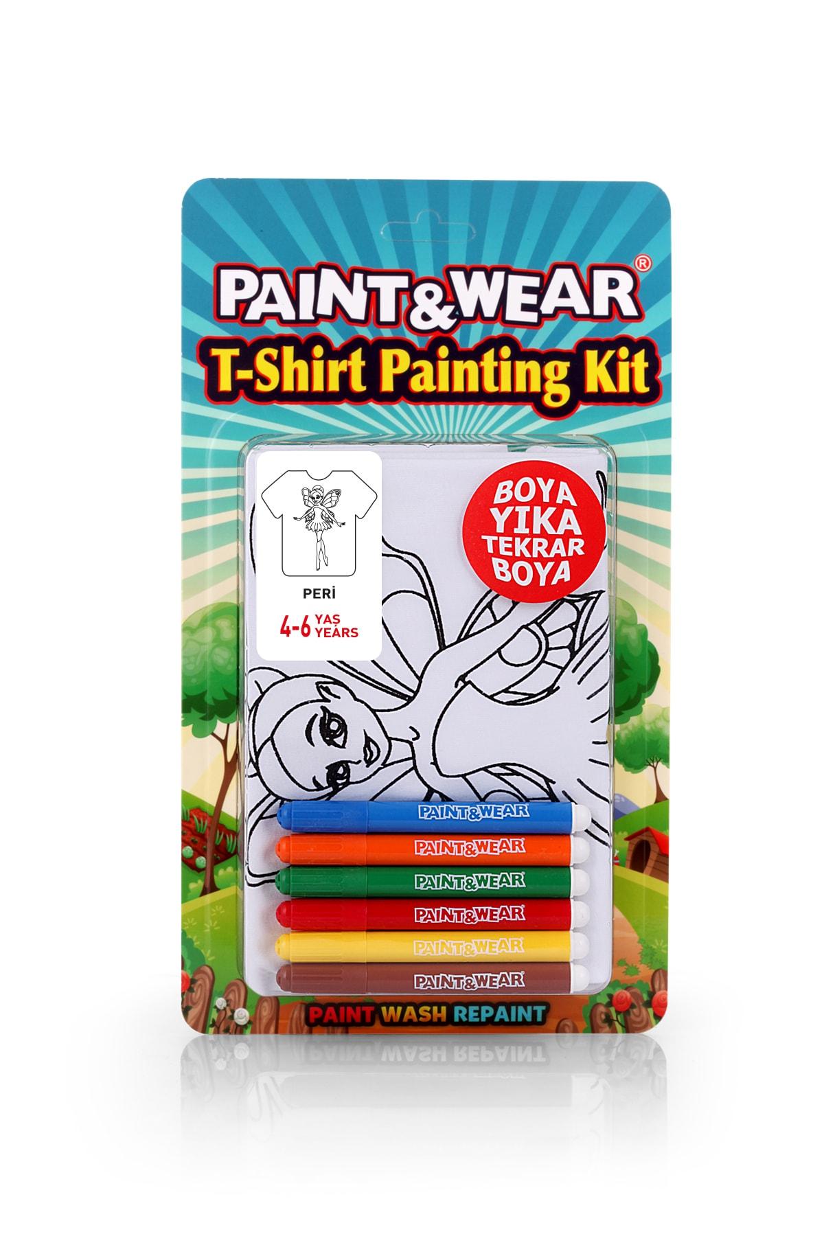 paint-wear Peri Boyama T-shirt 4-6 Yaş 1