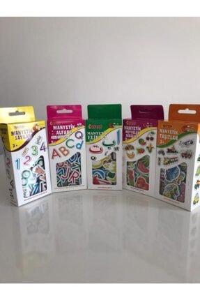 DIY Toys Manyetik -sebzeler-sayılar-alfabe-elif Ba-taşıtlar