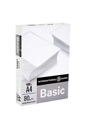 Basics Basic A4 Fotokopi Kağıdı 80gr 1 Paket ( 500 Sayfa )
