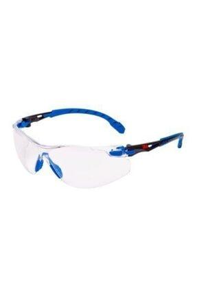 3M Solus Güvenlik Gözlükleri, Mavi/siyah Sap, Scotchgard™ Buğu Önleyici Kaplama, S1101sgaf-eu